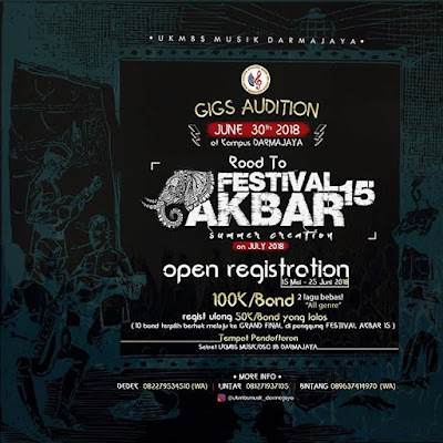 Gigs Audition 2018