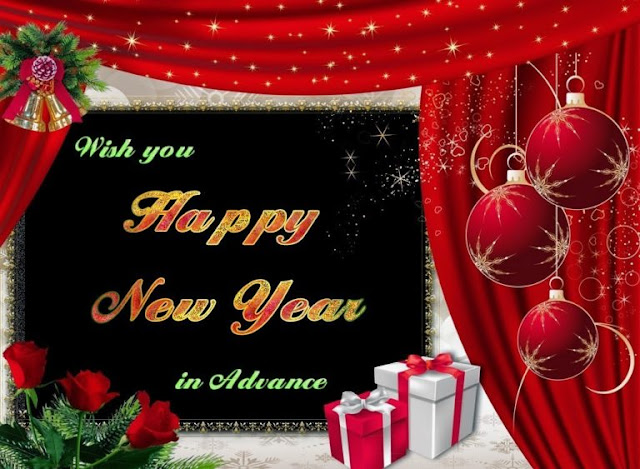 Advance Happy New Year Wishes Messages