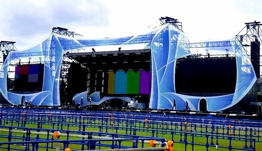 Namie's 20th anniversary stage in Okinawa | Photo