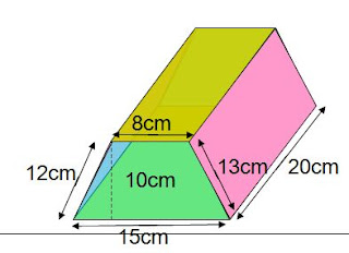 RIGHT PRISM,Volume of Right Prism,Triangular Prism,formulas and solved example