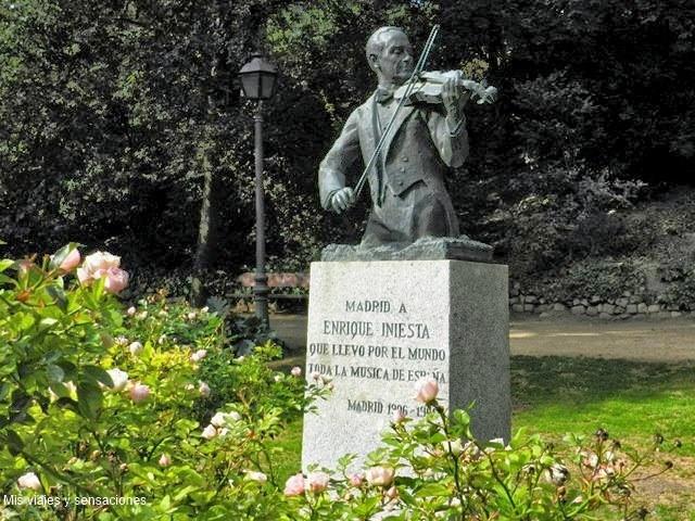 Parque la Quinta de la Fuente del Berro, Madrid