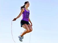 lompat tali dapat mengecilkan paha