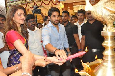 Kajal-Aggarwal-And-Naga-Chaitanya-Inaugurates-Chennai-Shopping-Mall-Photos-12