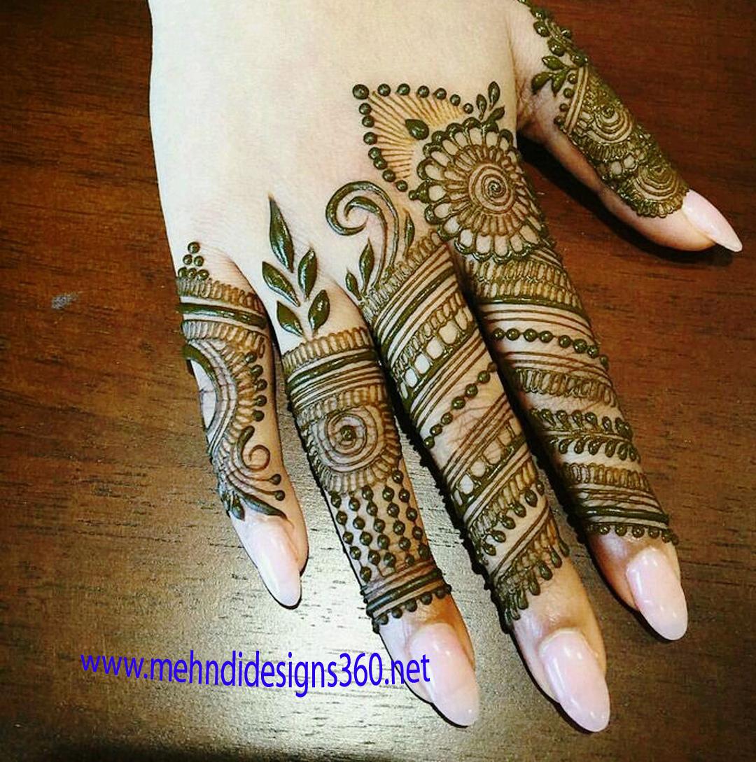Special Latest Fingers Mehndi Designs Arabic Simple Latest Mehndi