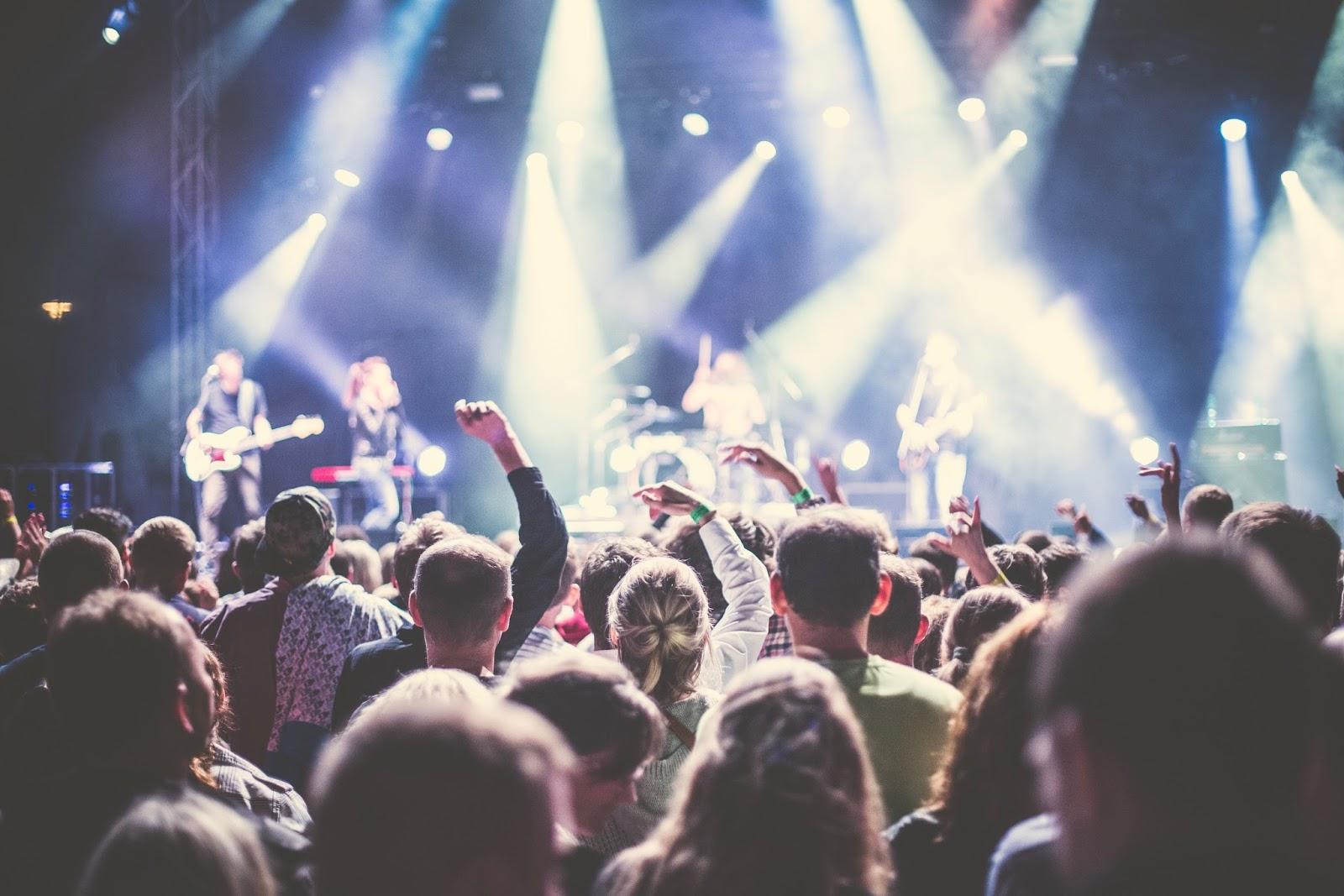 Celebrity Spotting Amongst Festival Crowds