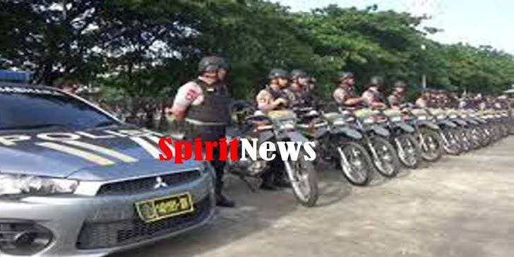 Polda Sulsel Turunkan, 1.500 Personel Polri Amankan Kampanye Akbar Prabowo Subianto di Makassar
