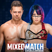 WWE Mixed Match Challenge - Natalya and Bobby Roode vs Bayley and Finn Balor + Miz and Asuka vs Jimmy Uso and Naomi