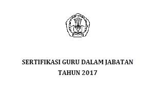 Pedoman penetapan peserta Sertifikasi tahun 2017