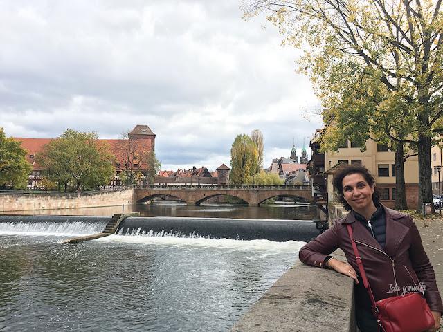 Paseando por los puentes de Nuremberg