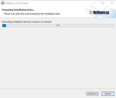 proses cara instal netbeans lengkap dengan gambar
