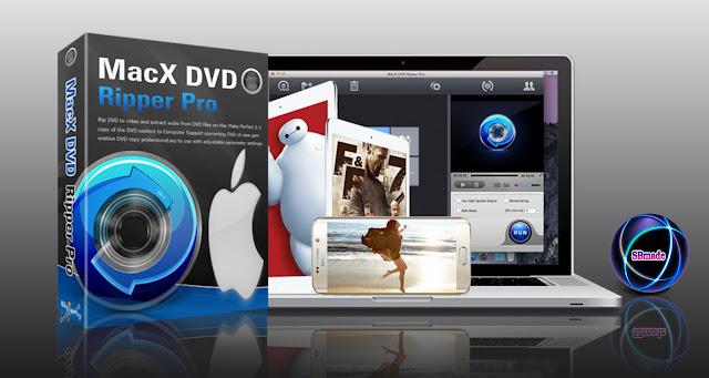 DVD Ripper software for Mac computer.