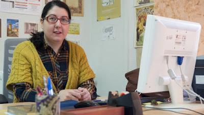 """María Sánchez-Pérez, de la USAL, encuentra en el periódico """"El Amigo de la Familya"""", publicado en Estambul, el único testimonio conocido de la obra cervantina traducida a la variedad lingüística de los judíos sefardíes."""