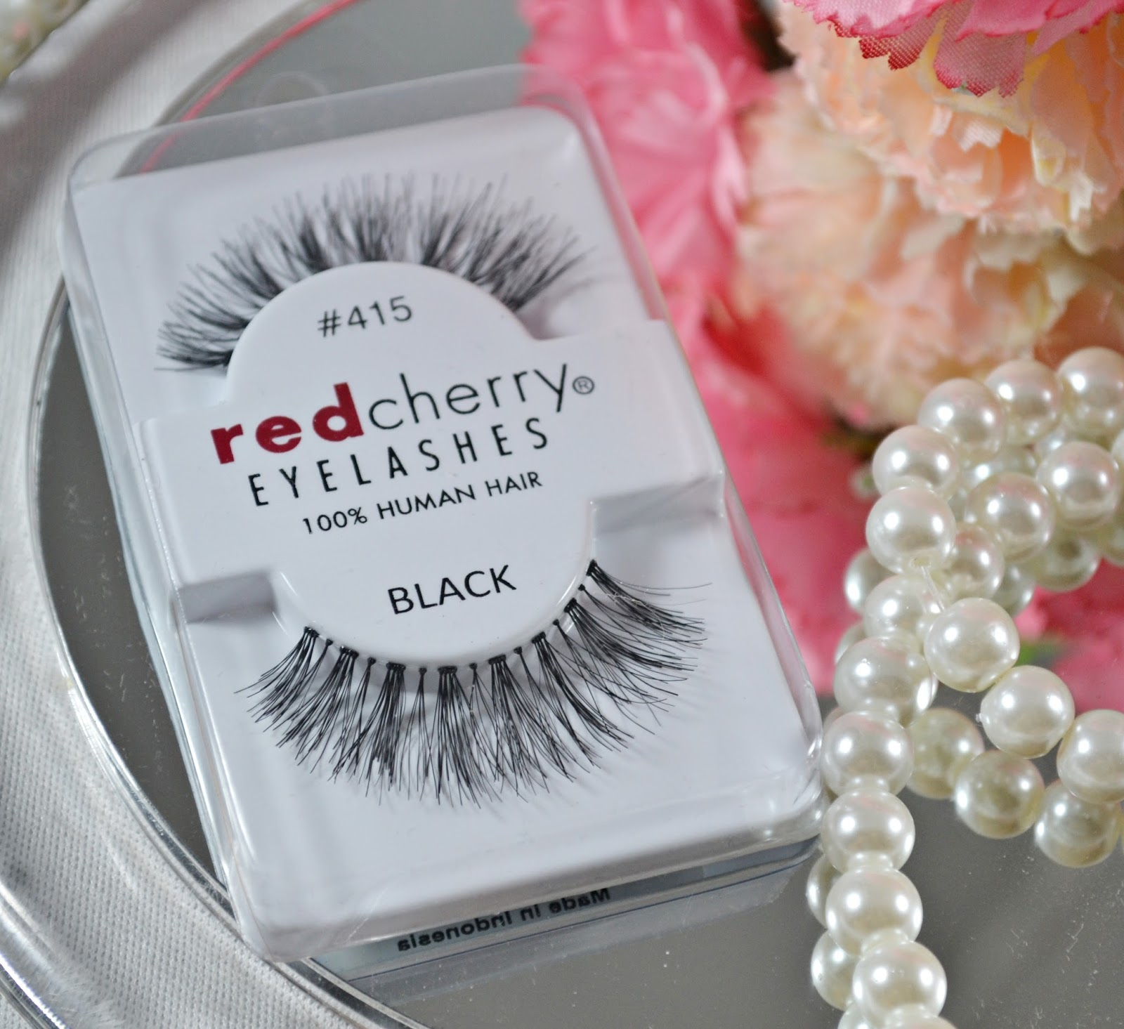 Red Cherry Eyelashes Ivy 415 Black All About Beauty 101