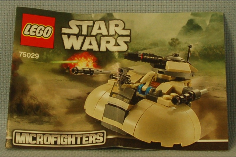 The Mobile Frame Garage Review 75029 Star Wars Microfighter Series