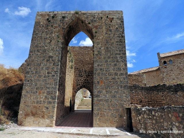 Arco de Cozagón, puertas muralla, Brihuega