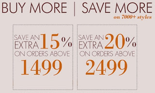 Flat 15% & 20% OFF on Already Discounted/Non Discounted Products @ Myntra