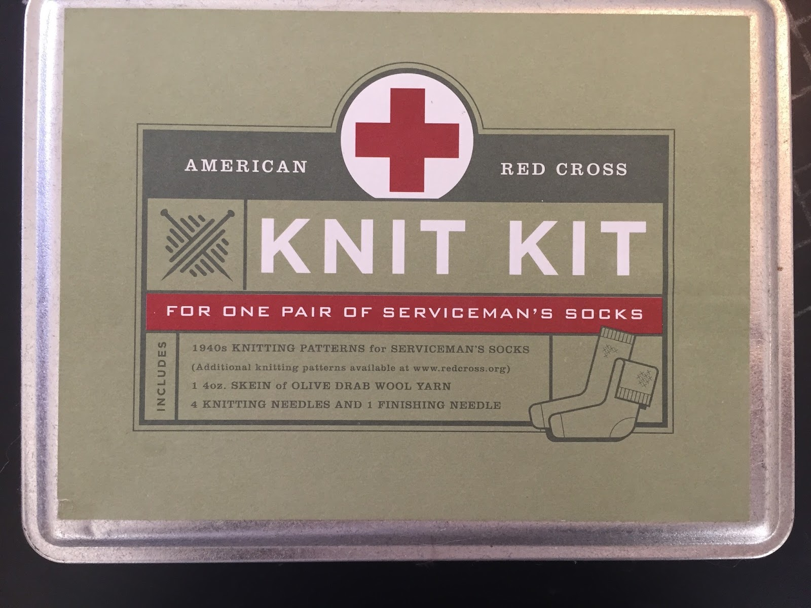 Running Stitches: Knitting Socks for the Red Cross