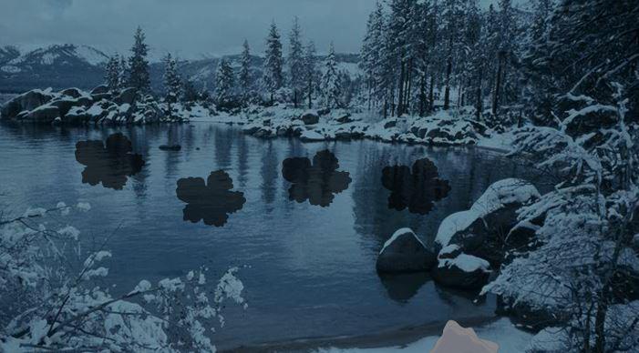 wowescape dark winter forest escape escape games daily new
