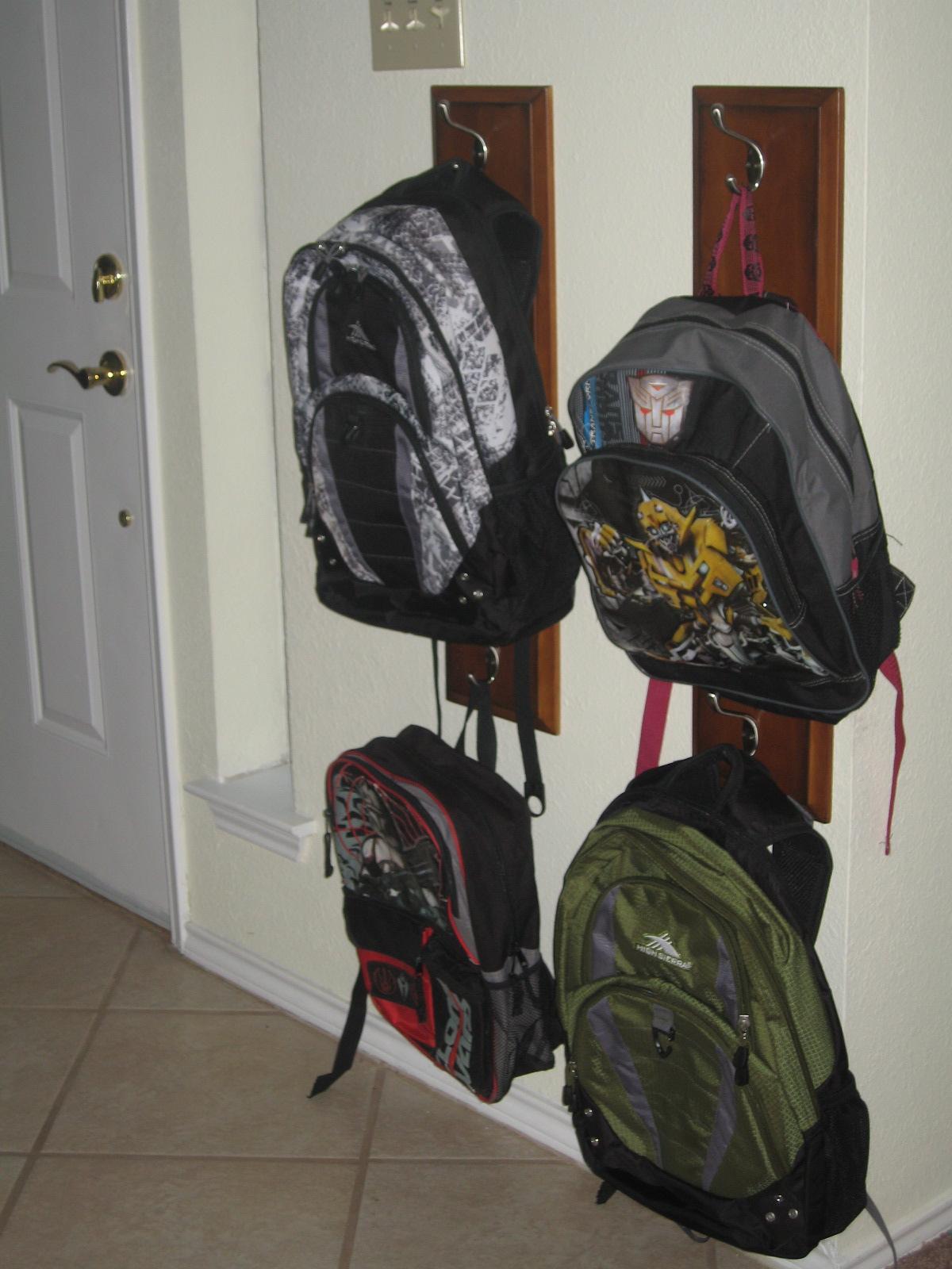 Drawer Front Into Coat Backpack Hanger 11 7