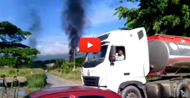 Desalojaron la planta de llenado de PDVSA tras la explosión en Guatire