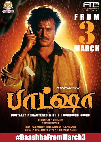 Baasha 1995 UNCUT Dual Audio Hindi Movie Download