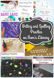 Writing and Spelling Practice on Mom's Library