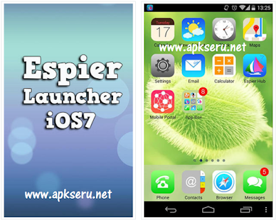 Espier Launcher iOS7 Apk Terbaru untuk Android | BBM MOD