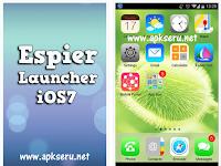 Espier Launcher iOS7 Apk Terbaru untuk Android