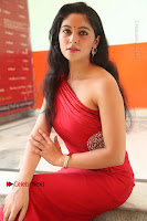 Actress Zahida Sam Latest Stills in Red Long Dress at Badragiri Movie Opening .COM 0193.JPG