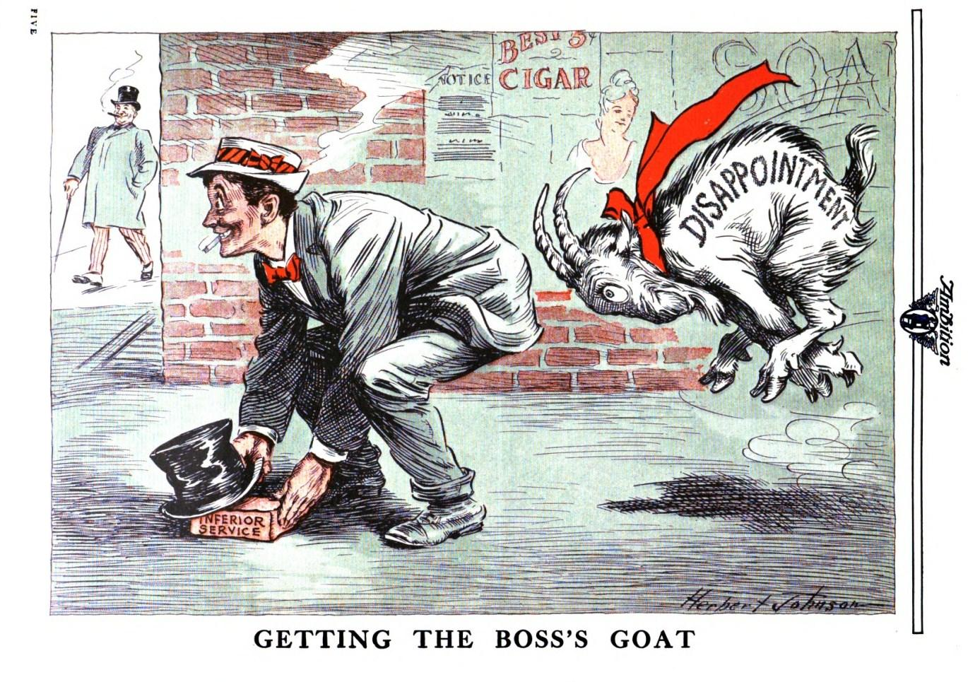 Early Sports and Pop Culture History Blog: Getting Goats, Losing