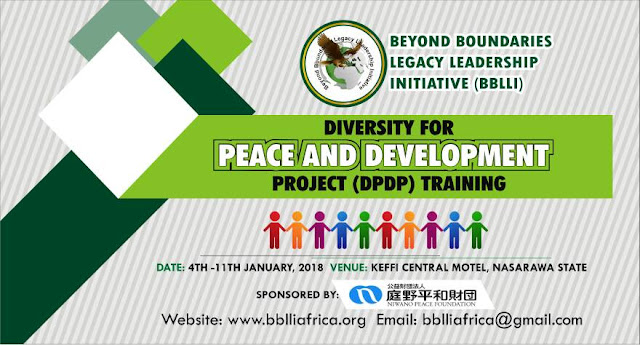 BBLLI collaborates with Niwano Peace Foundation, Japan to Advocate for Peace and Ethno-Religious Tolerance in Nigeria