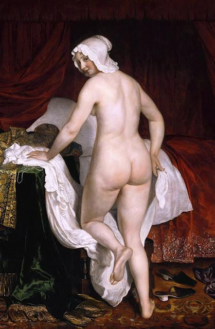Jacob Van Loo: Giovane donna che va a letto
