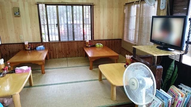 麺工房島風の店内の写真