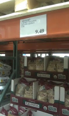 Gluten-Free Cheap Quinoa at Costco