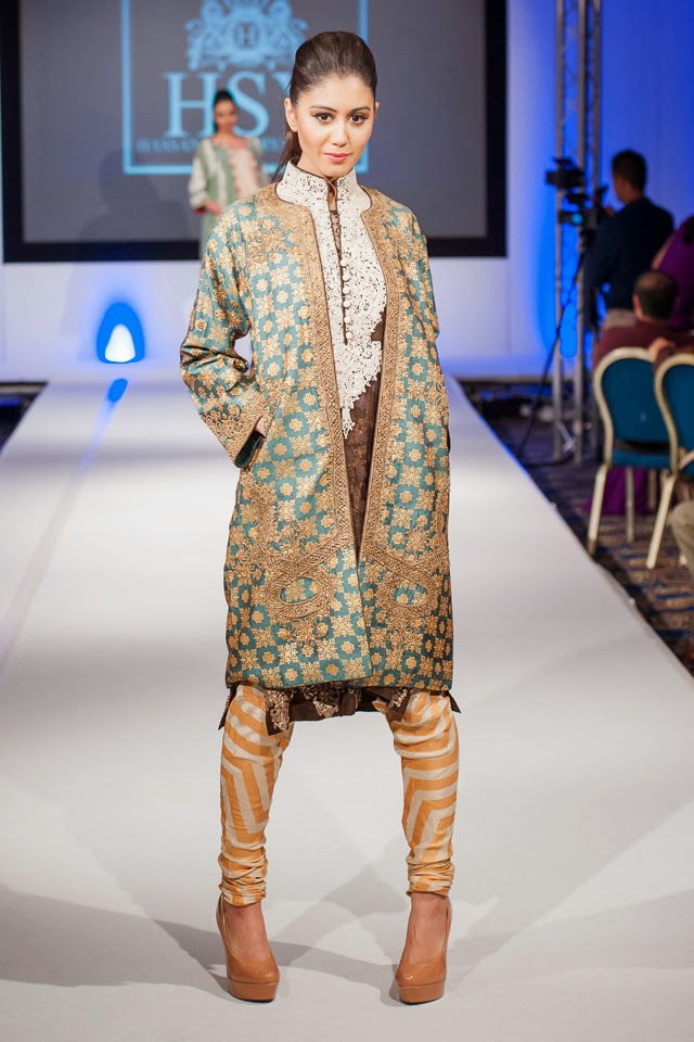 Hsy At Pakistan Fashion Extravaganza London 2014
