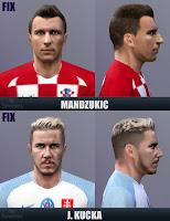 PES 6 Faces Juraj Kucka + Mario Mandžukić by Sevenes