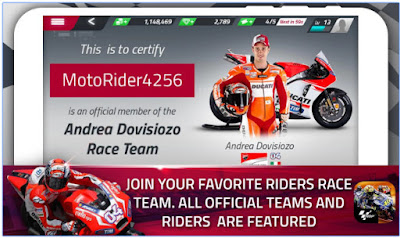 DOWNLOAD MOTOGP RACE CHAMPIONSHIP QUEST APK MOD TERBARU 2016
