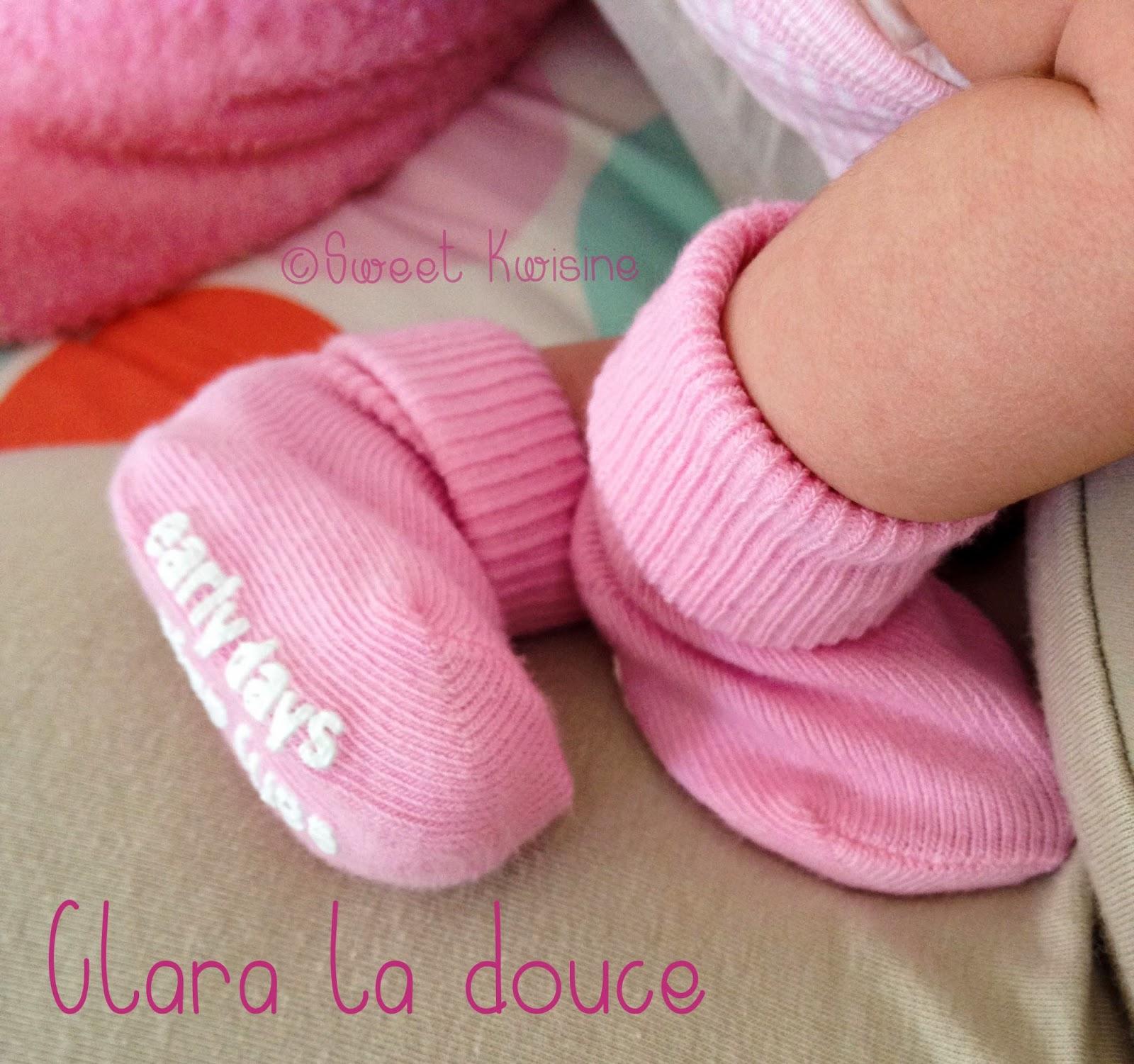 Sweet Kwisine, bébé, pieds bébé, chaussons, cuisine, gâteau, baby