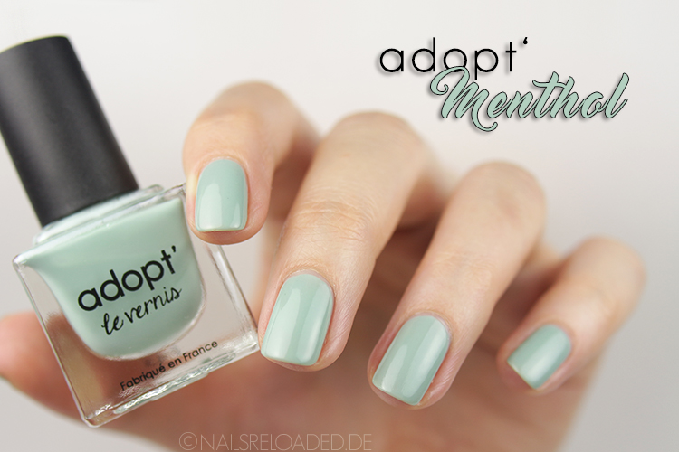 Nagellack: adopt - Menthol
