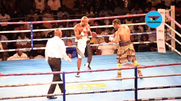 Watch How Bukom Banku Was Defeated By Bastie Samir