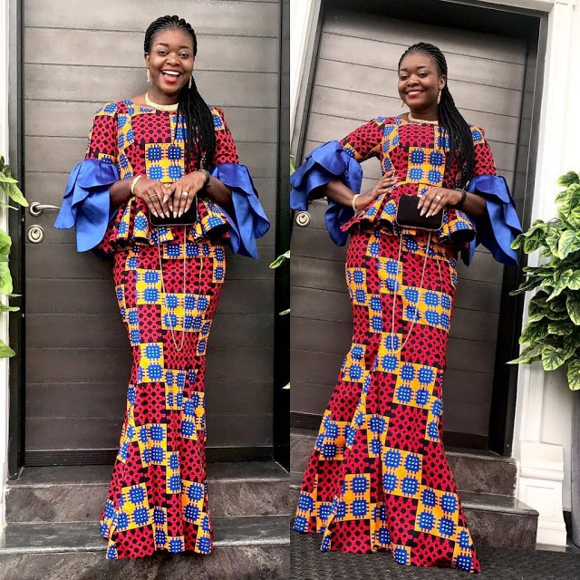 926b2b93bcb9d4 Unique Ankara Skirt and Blouse Aso Ebi Style You Should Try Out ...