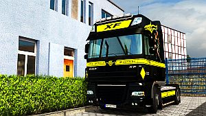 Flying Dutchman skin for DAF 50Keda