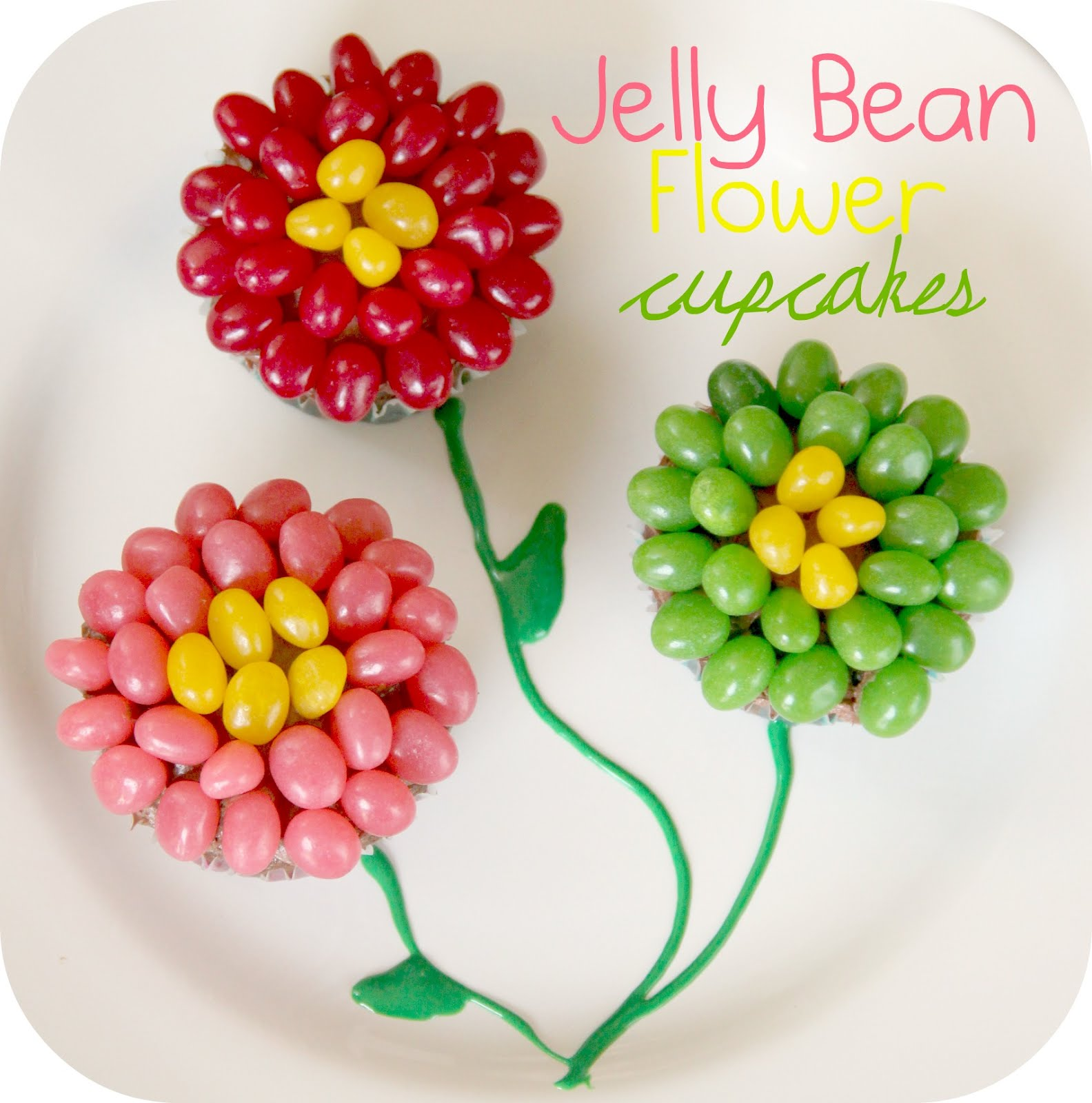 Easter Cake Jelly Beans Middle