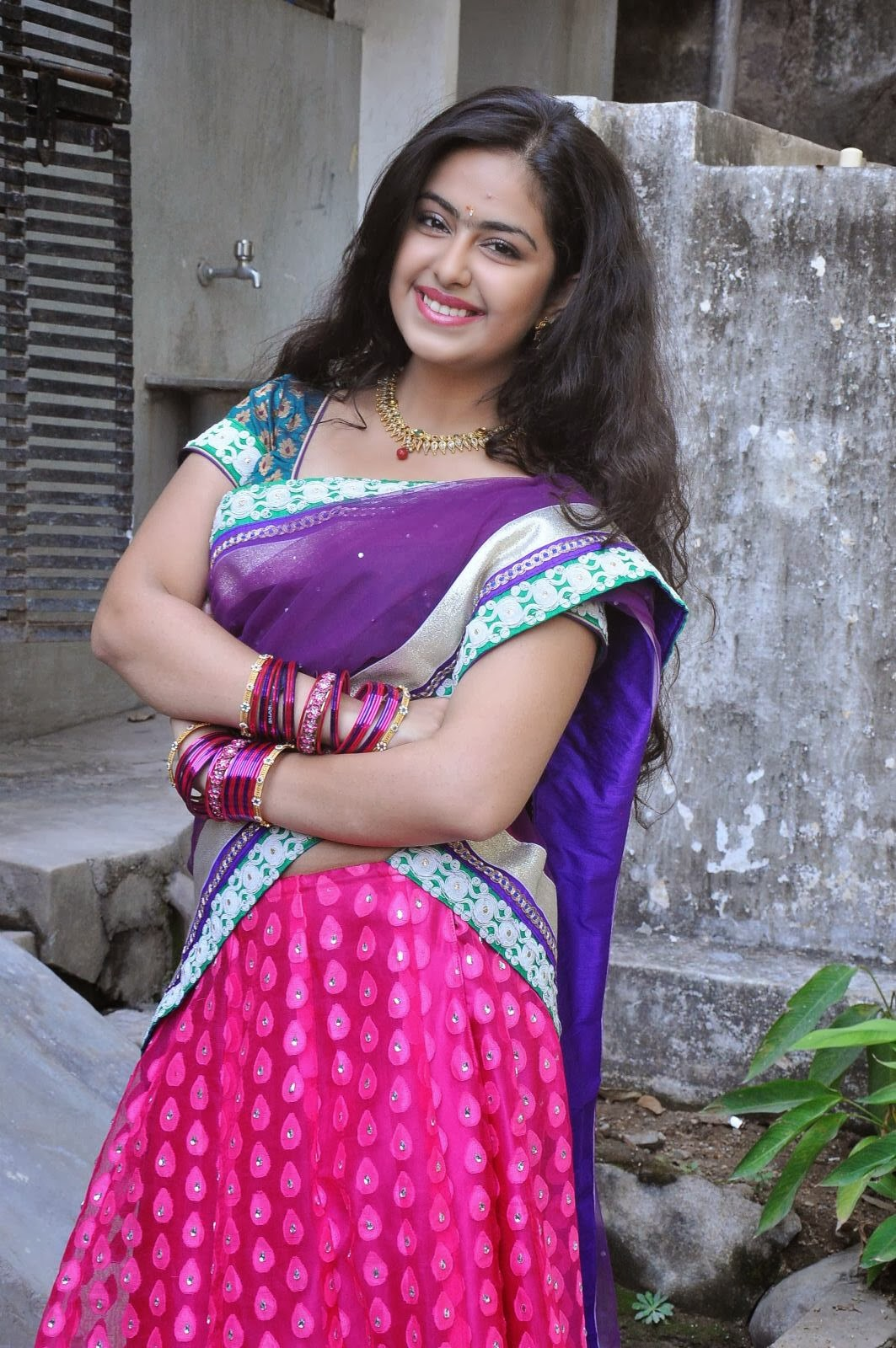 Avika Gor or Roli Photos at Uyyala Jampala Movie Audio ...