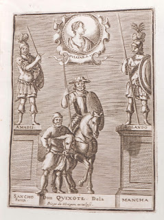 Frontispiece to 1674 editon of Don Quixote