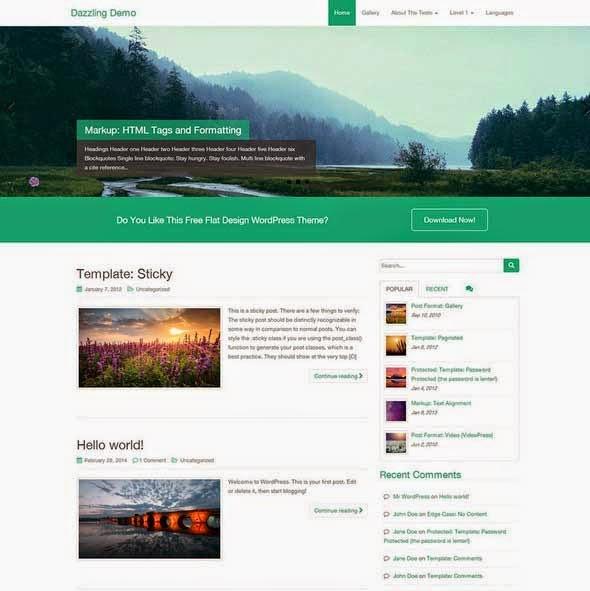 Dazzling WordPress Business Theme