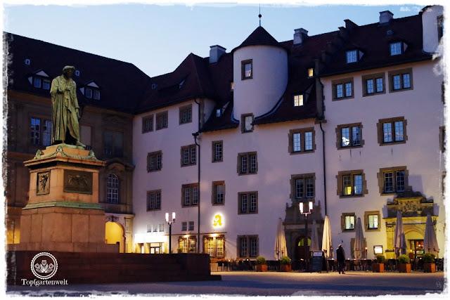 Gartenblog Topfgartenwelt Stuttgart: bei Nacht