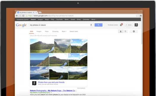 Google Search Photo Uploaded Feature