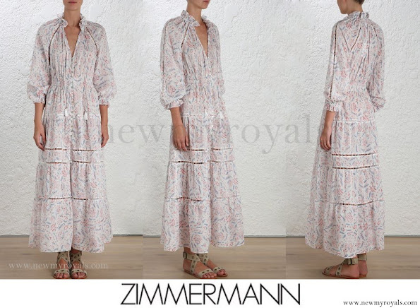 Crown Princess Mette-Marit wore Zimmermann Zephyr Folk Dress