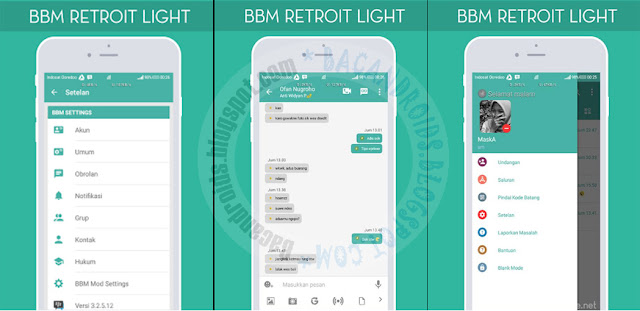 BBM Mod retroit Light v3.2.5.12 Apk Latest new Style